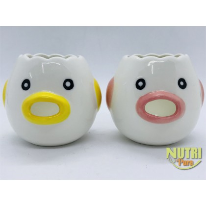 Ceramic Egg Separator | 可爱小鸡造型隔蛋器