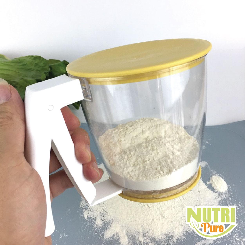 Flour Sieve Sifter Strainer Baking Utensil