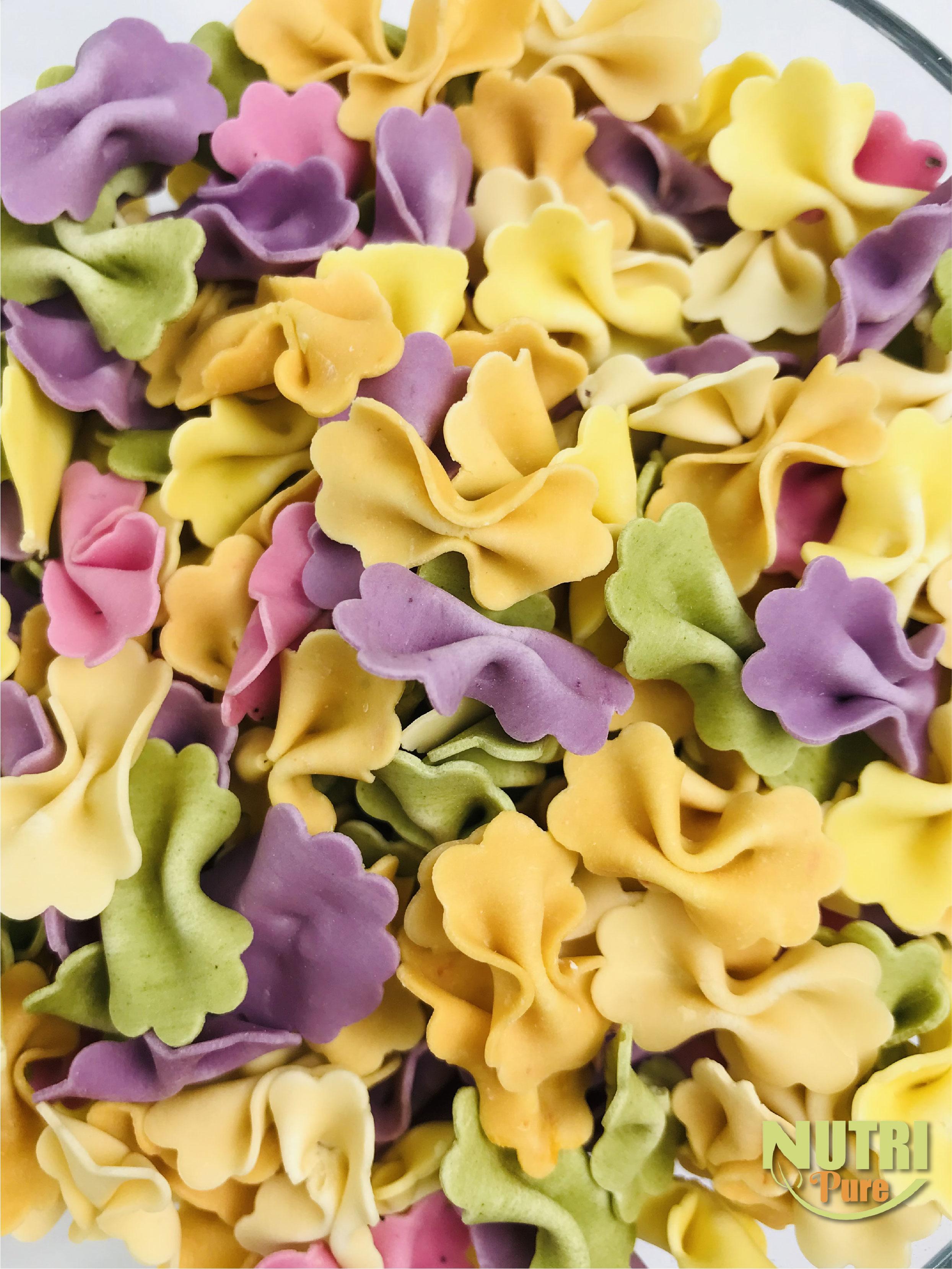 Nutri Pure Baby Noodle (Butterfly Shape) 200g   果蔬宝宝面 (蝴蝶形)